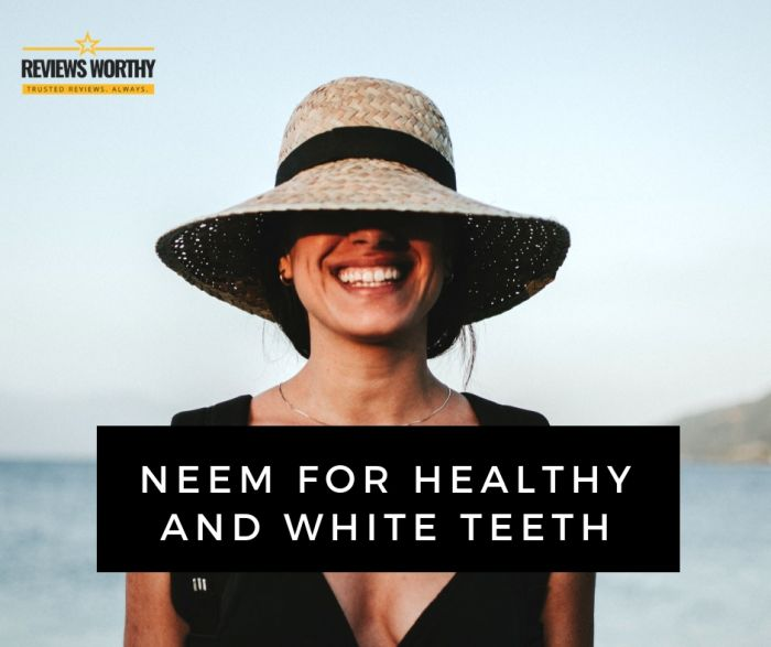 Neem for Healthy and White Teeth