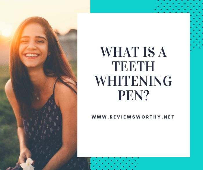 What is a Teeth Whitening Pen_
