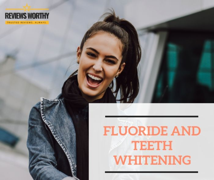 Fluoride and Teeth Whitening