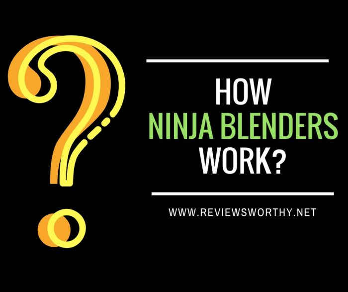 how ninja blenders work