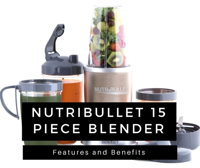 15 piece blender features and benefits