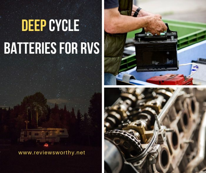 Deep Cycle Batteries for RVs