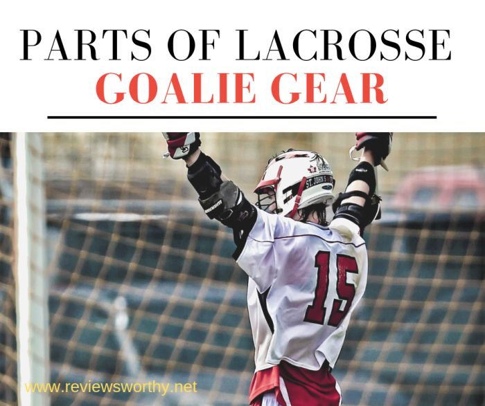 b0db1ffb4 Parts of Lacrosse Goalie Gear