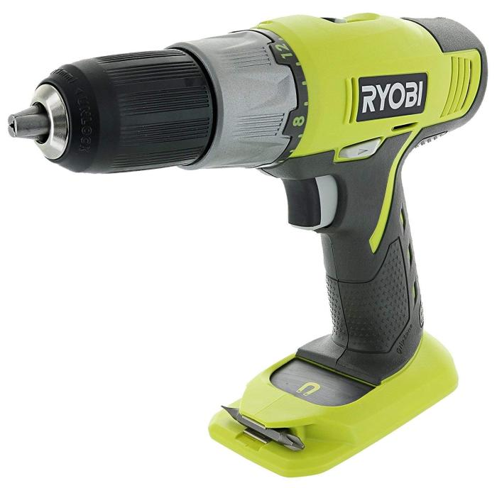 Ryobi P271 One+ 18 Volt Lithium Ion 12 Inch 2-Speed Drill Driver (Batteries Not Included Power Tool Only